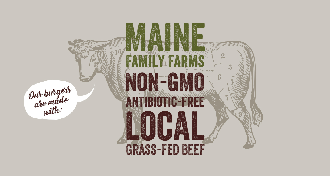 Maine family farms non-gmo antibiotic-free local grass fed beef