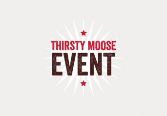 Thirsty moose event graphic