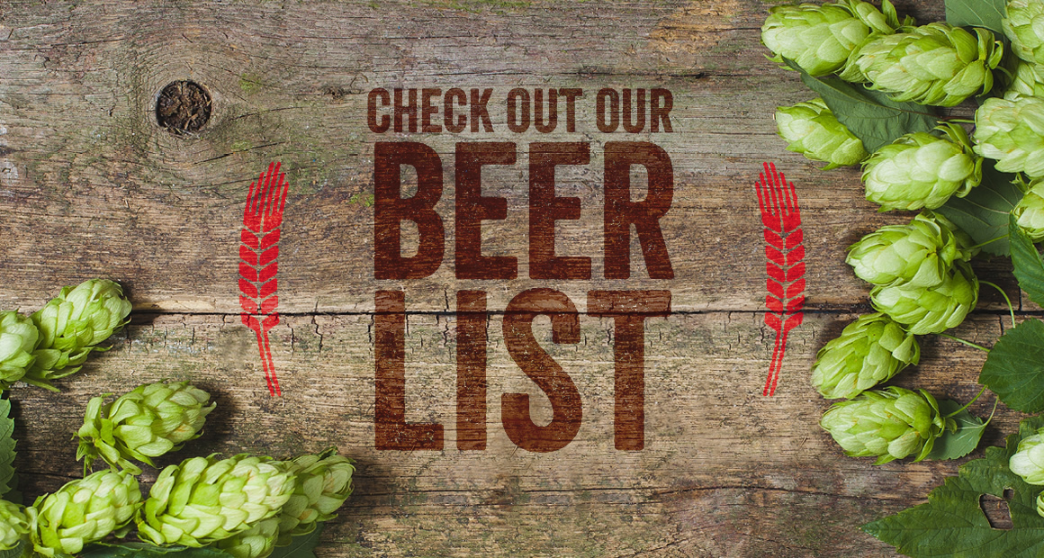 Thirsty Moose Taphouse Beer List