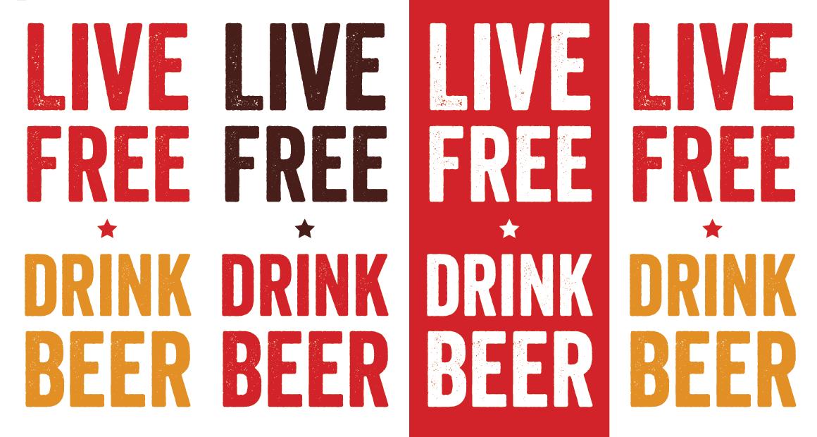 Live Free Drink Beer