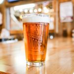 Light beer with Thirsty Moose Taphouse glass