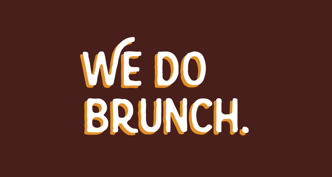 We do brunch graphic